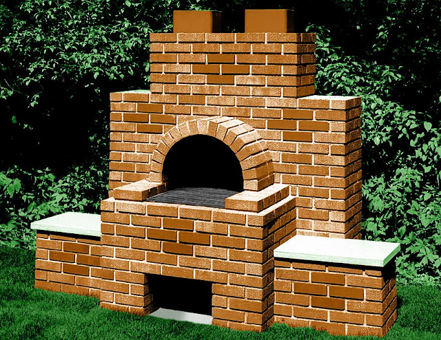 Brick Barbecue4