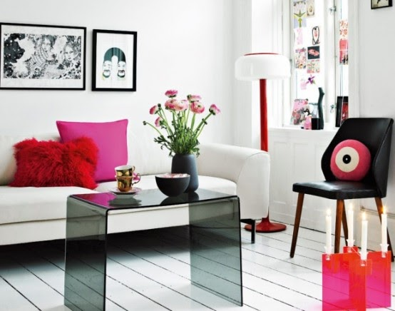 Dise o de interiores color rosa ideas para decorar - Disenar tu casa ...