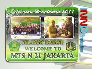 Pelepasan Wisudawan MTSN 31 Jakarta