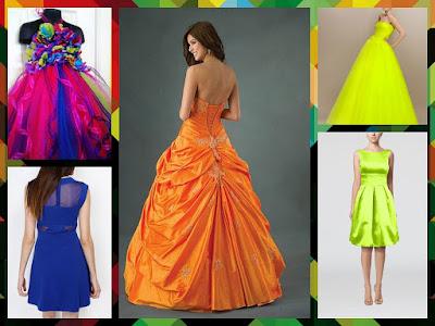 Neon Weddings Dresses