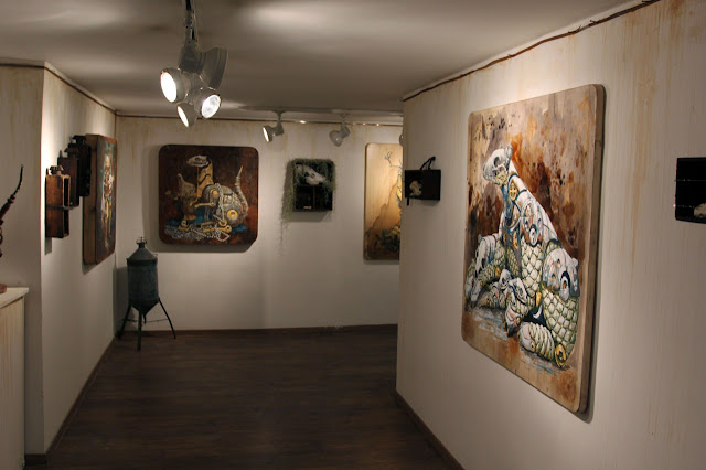 "Coverage Of Pixel Pancho ""The Garden Of Eden"" New Solo Show In Turin, Italy 2"