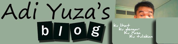 Adi Yuza's blog