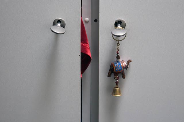 closet with door hanger