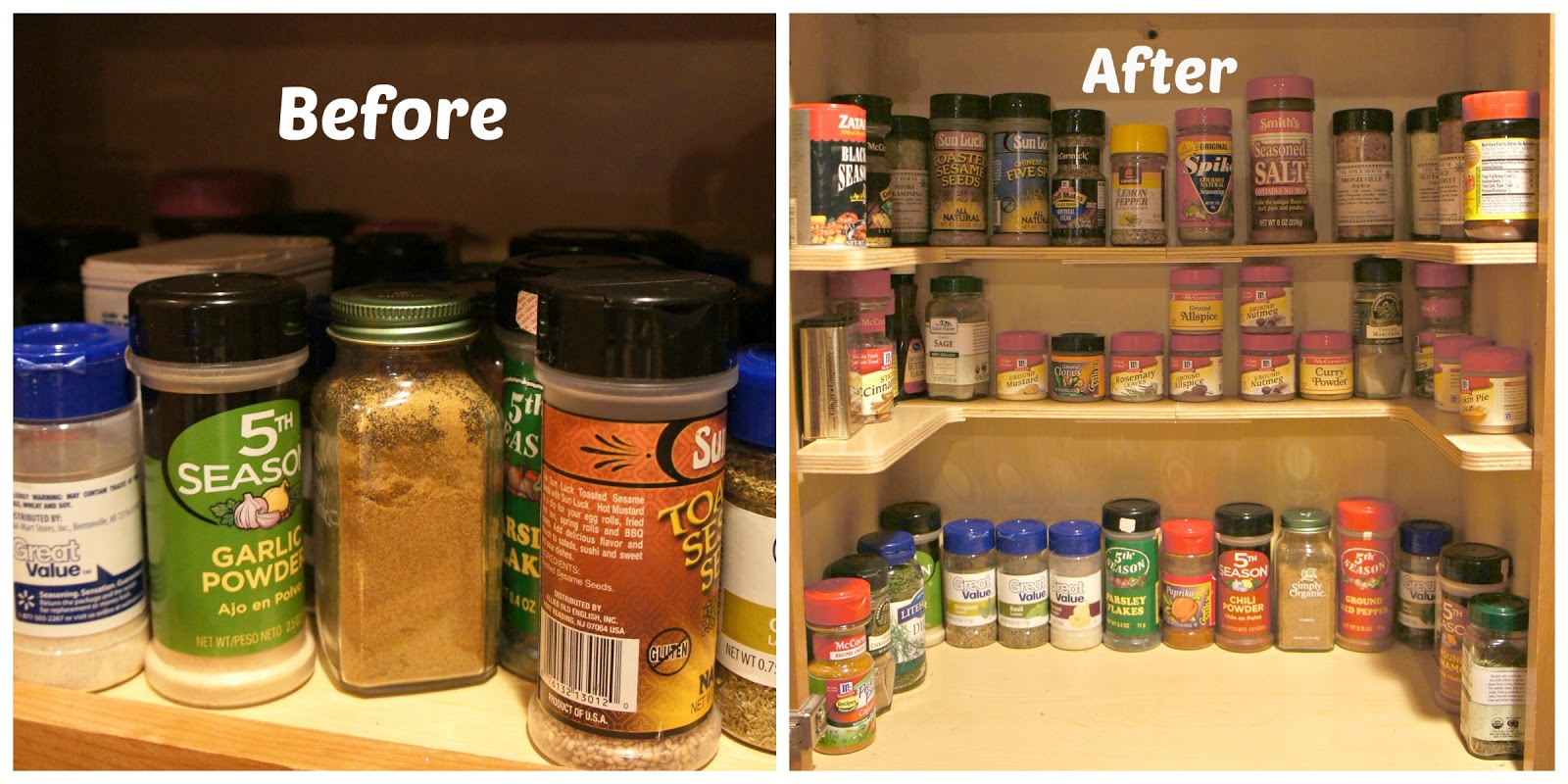 Looking For A Way To Organize Your Spices 365 Days Of