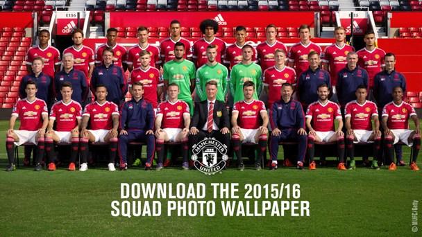 Foto Skuad Manchester United 2015-2016