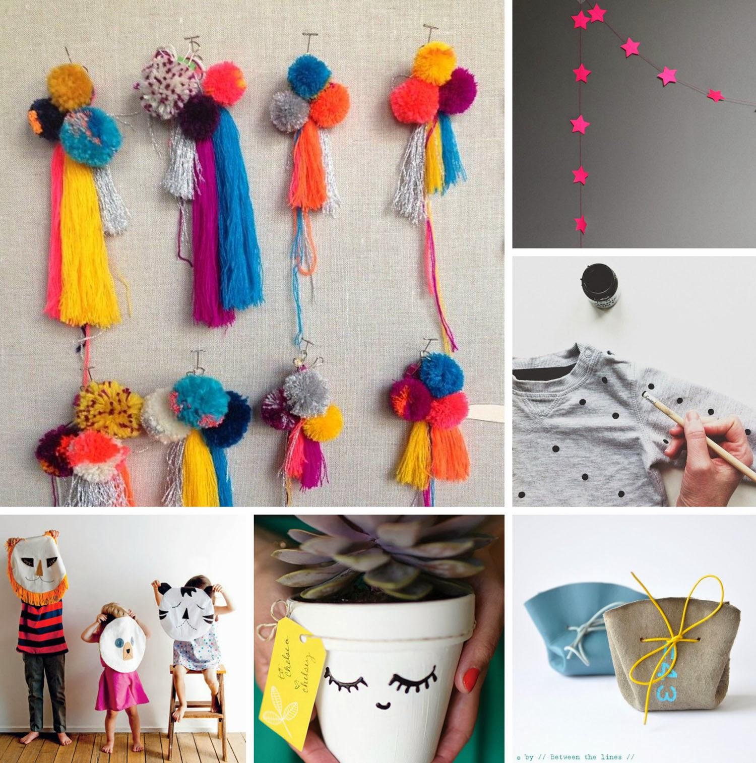 Moose bird pinboard handmade gift ideas for Handmade things