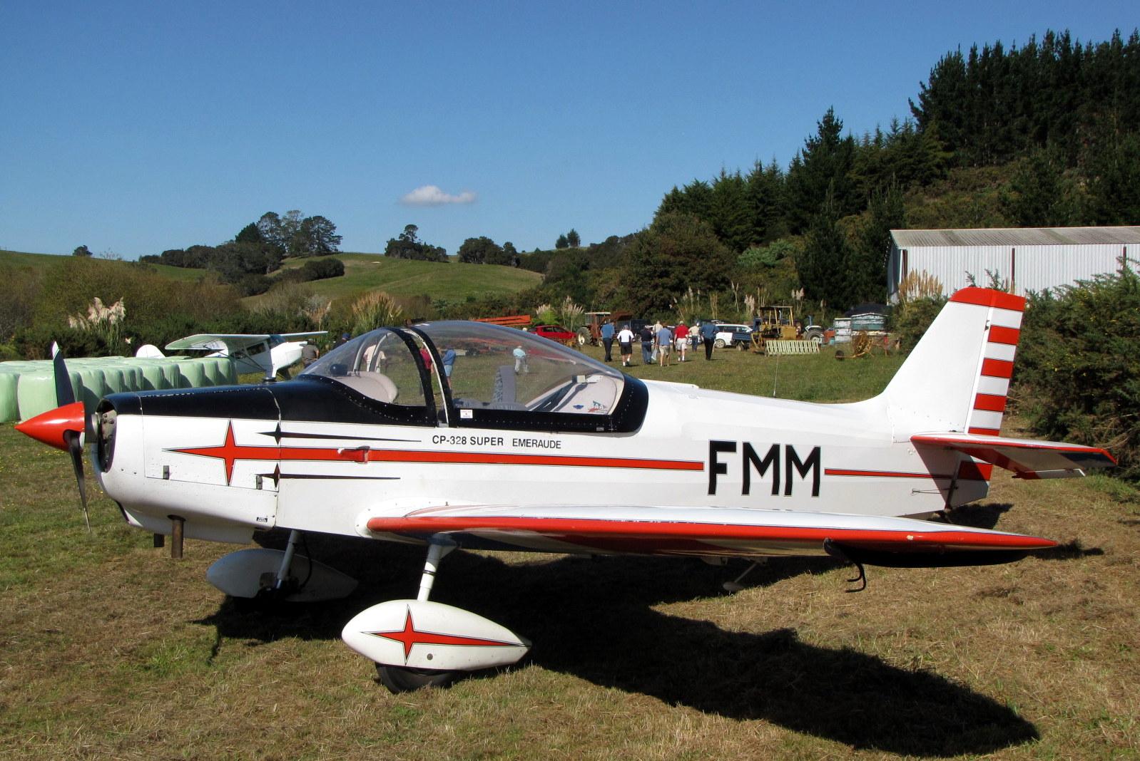 NZ Civil Aircraft: Jodel D 11s of New Zealand - Factory