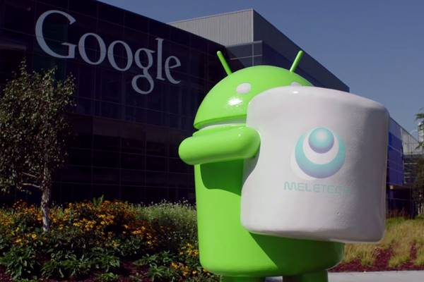 patung android 6.0 marshmallow