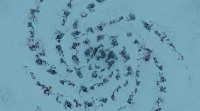 espiral de cuerpos en el puño de los primeros hombres - Juego de Tronos en los siete reinos
