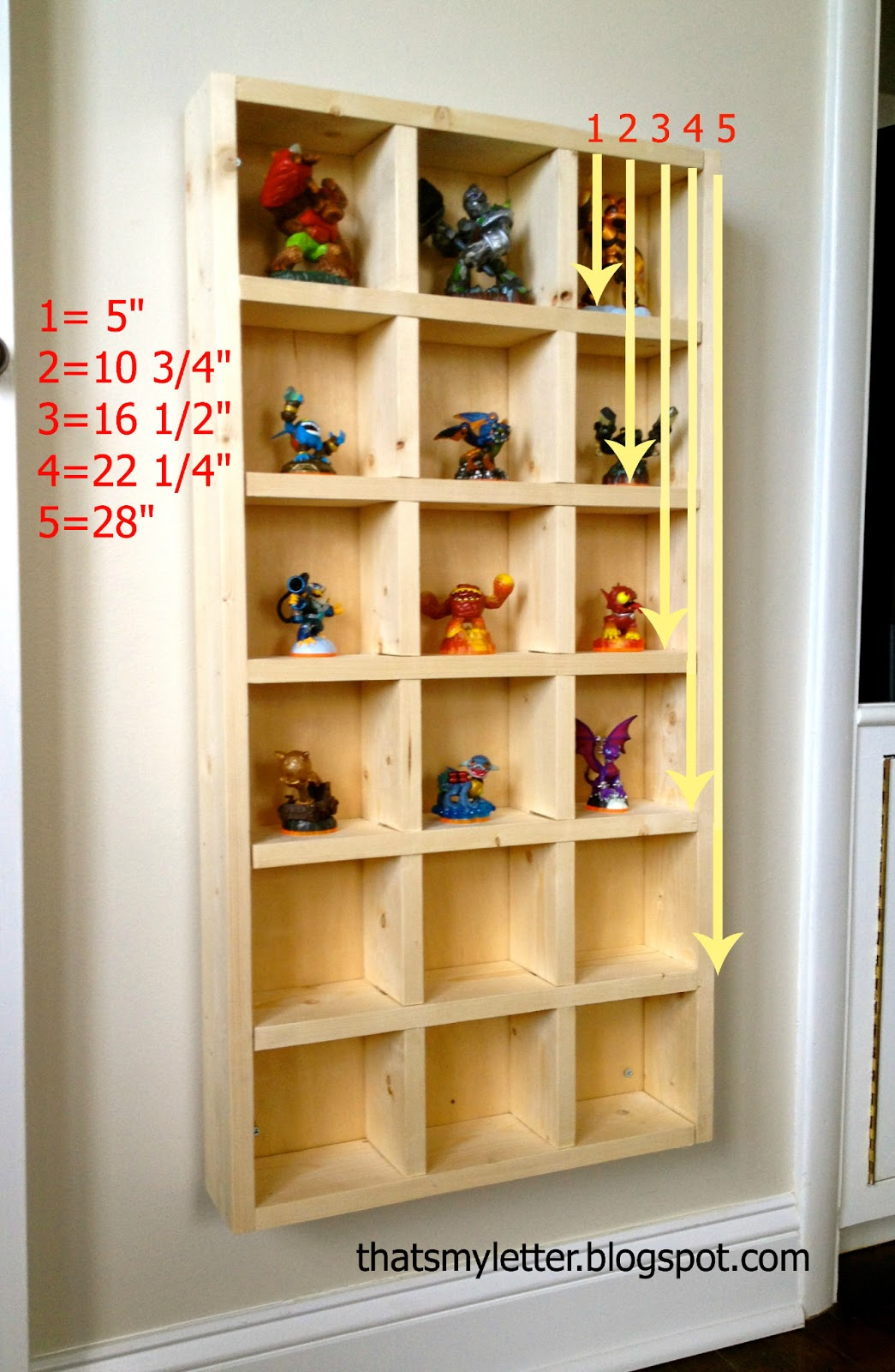 DIY Skylanders Storage Shelf - Jaime Costiglio