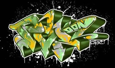 3d-graffiti-alphabet-arrow-don