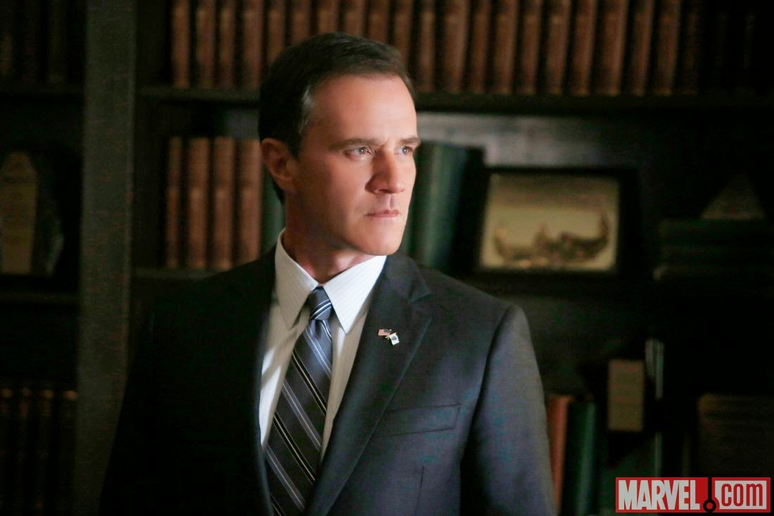Agents of SHIELD - Episode 2.06 - A Fractured Rose - First look at Tim DeKay