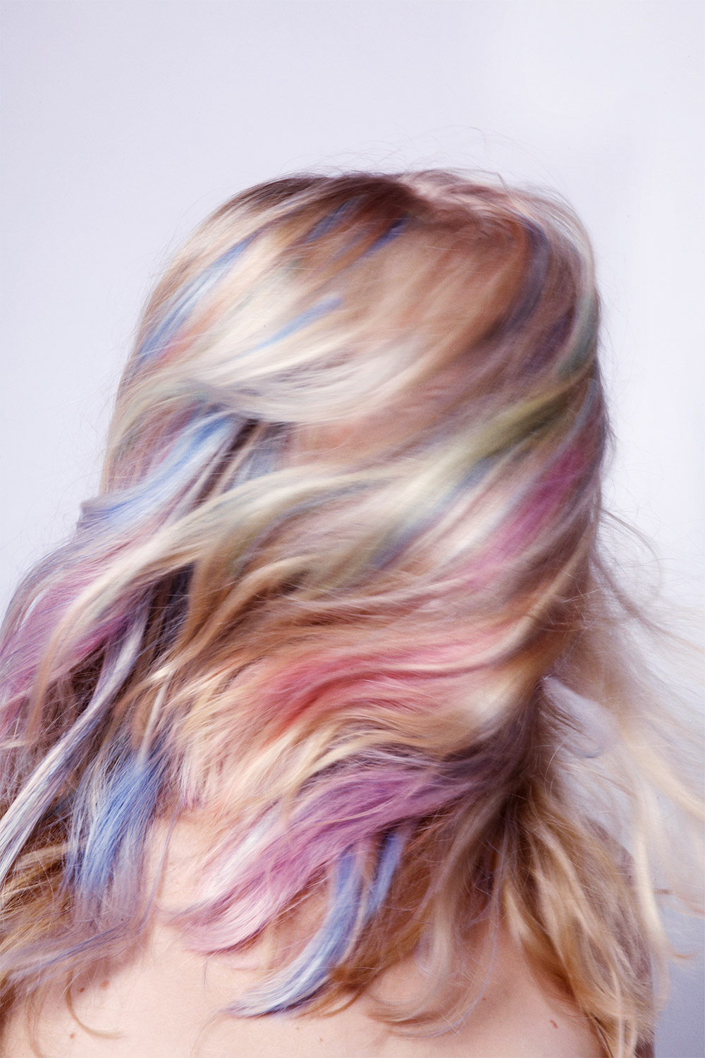 My Little Pony Pastel Rainbow Hair Editorial With Anne Sophie Monrad