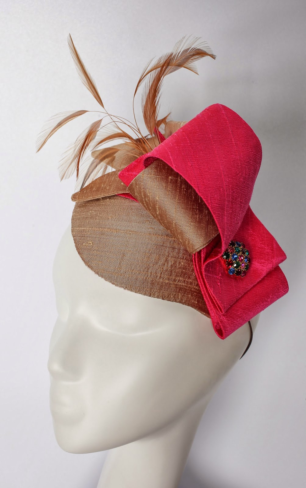 Ginger Fascinator