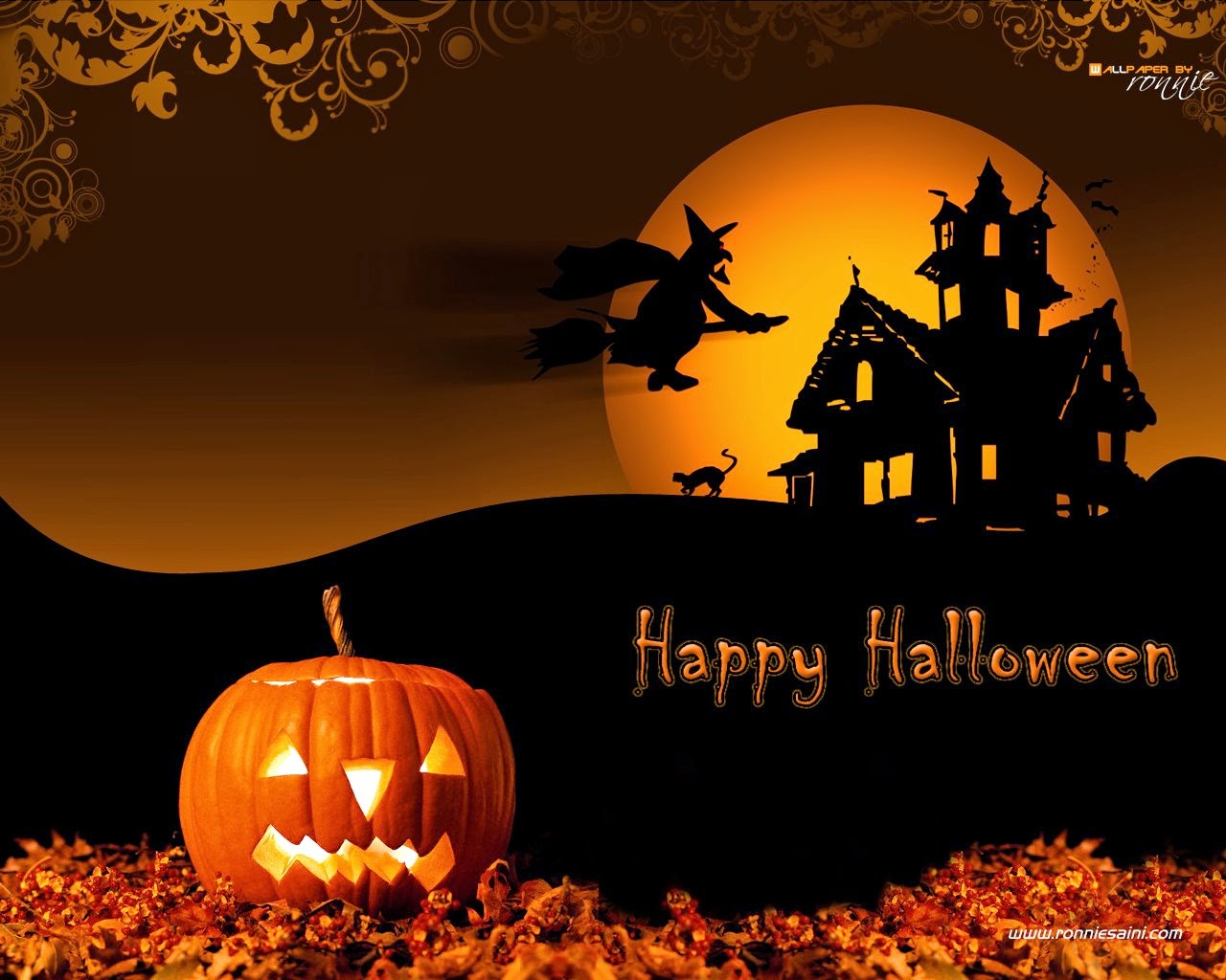 Halloween Day 2014 Wishes Wallpapers
