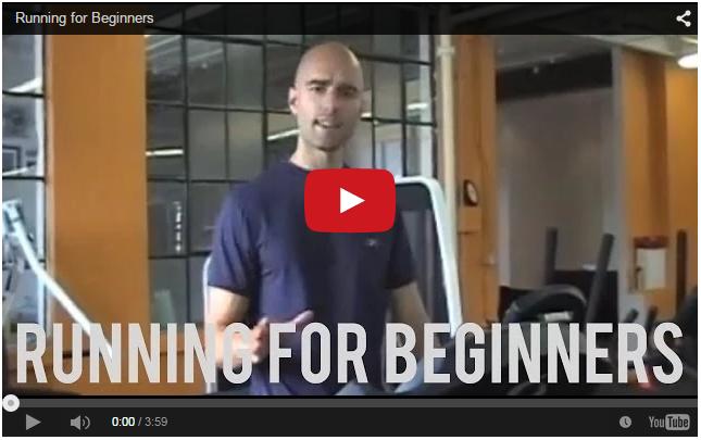 Running for Beginners Video Tip