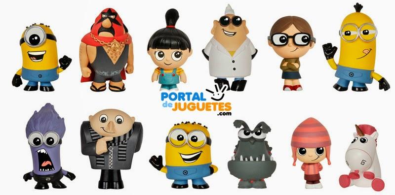 Mini Figuras Gru mi villano favorito Funko coleccion completa
