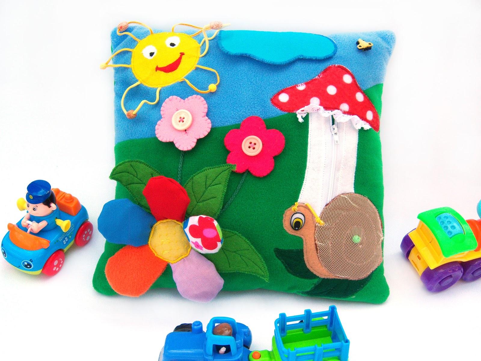 Развивающие подушки своими руками для детей фото 27