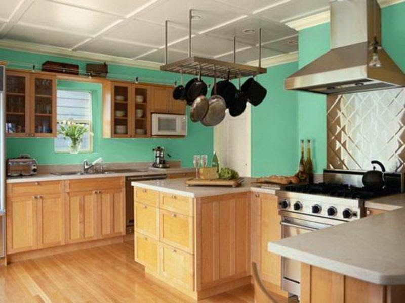 Fancy color ideas for minimalist kitchen interior