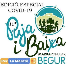 MARXA POPULAR PUJA I BAIXA 2020  CAMINADA PER LA MARATÓ TV3
