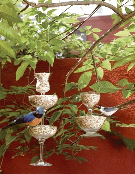 Dishfunctional designs the upcycled garden volume 3 for Upcycled bird feeder