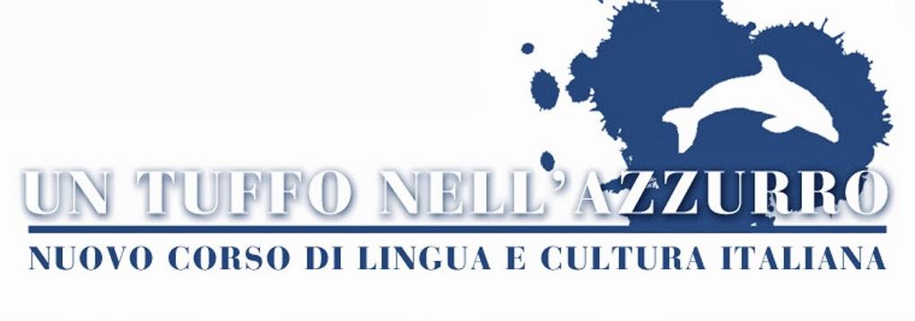 Un tuffo nell'azzurro: corso di italiano per stranieri, italiano L2 - LS