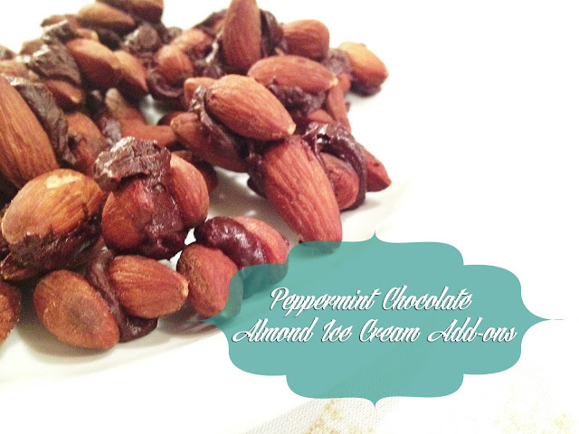 Peppermint Chocolate Almond Treats