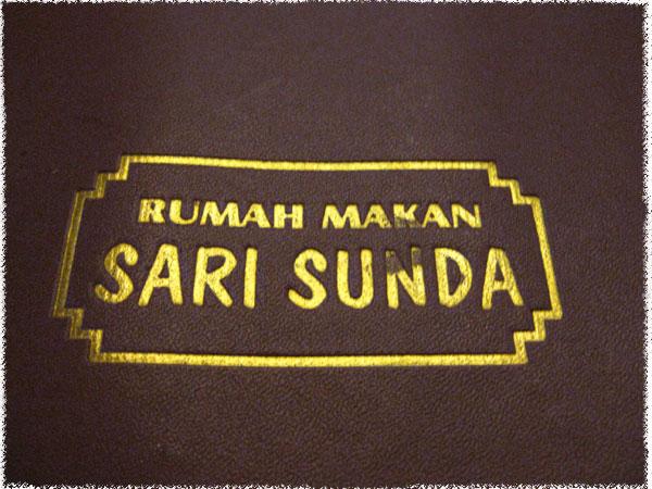 Rumah Makan Sari Sunda - Bandung