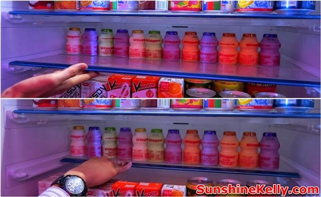 Electric, Folio JX refrigerator, folio BX Refrigerator, mitsubishi malaysia, auto shelf