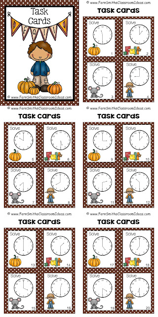 http://www.fernsmithsclassroomideas.com/2015/08/ferns-freebie-friday-fall-time-task.html
