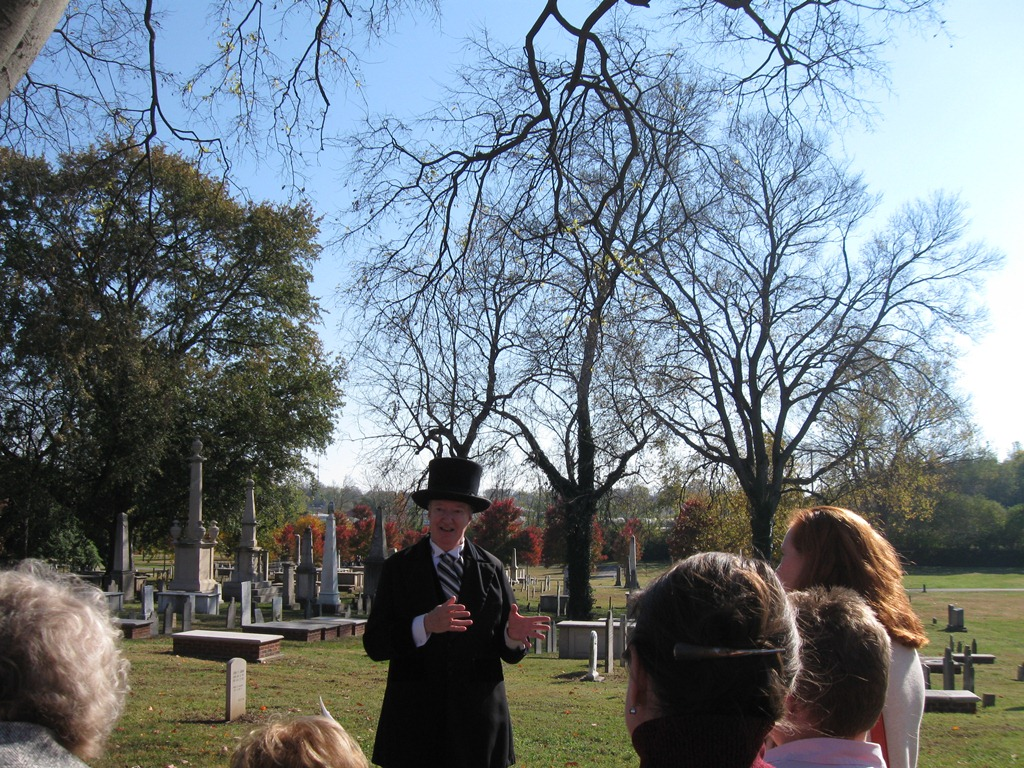 Nashville City Cemetery Living History Tour