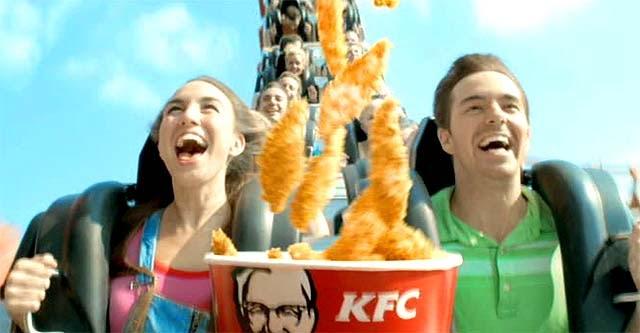 Las canciones de la tele m sica anuncio kfc dips bucket for Oh yeah housse de racket