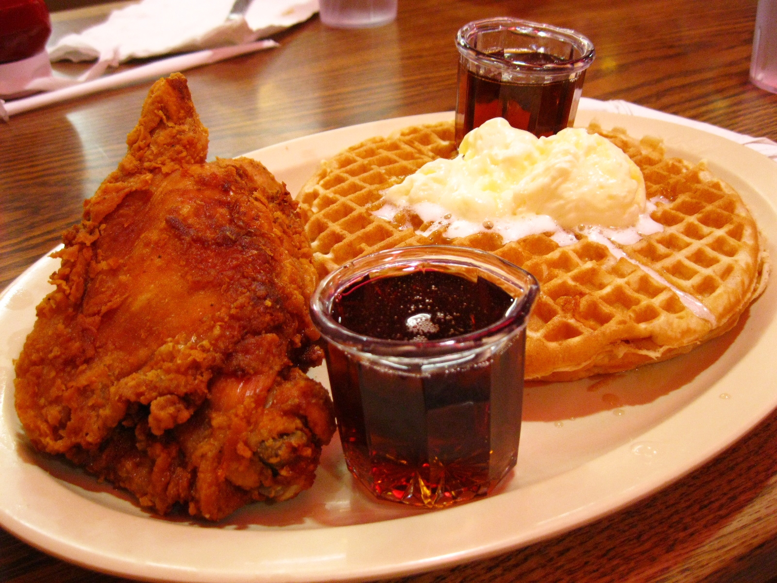Roscoe's House of Chicken and Waffles. | Yuuuuuummm... | Pinterest