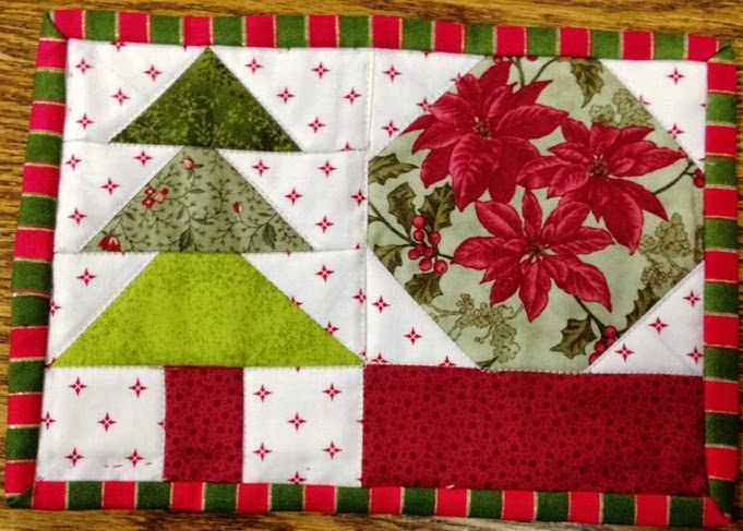 Little Quilts Blog: Second Saturday Sampler Ptt 3 And Rug
