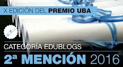 Premio UBA 2016 Edublogs