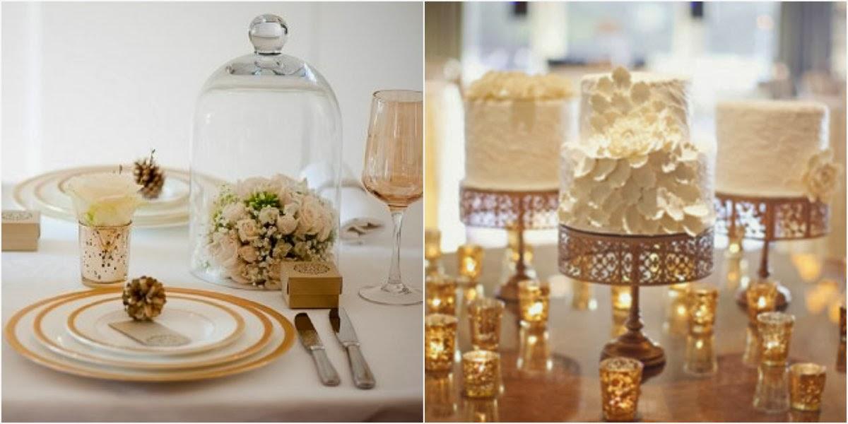 Casamento dourado e branco  Caixas padrinhos