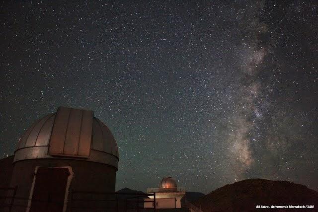 Moss Observatory in Oukaimeden