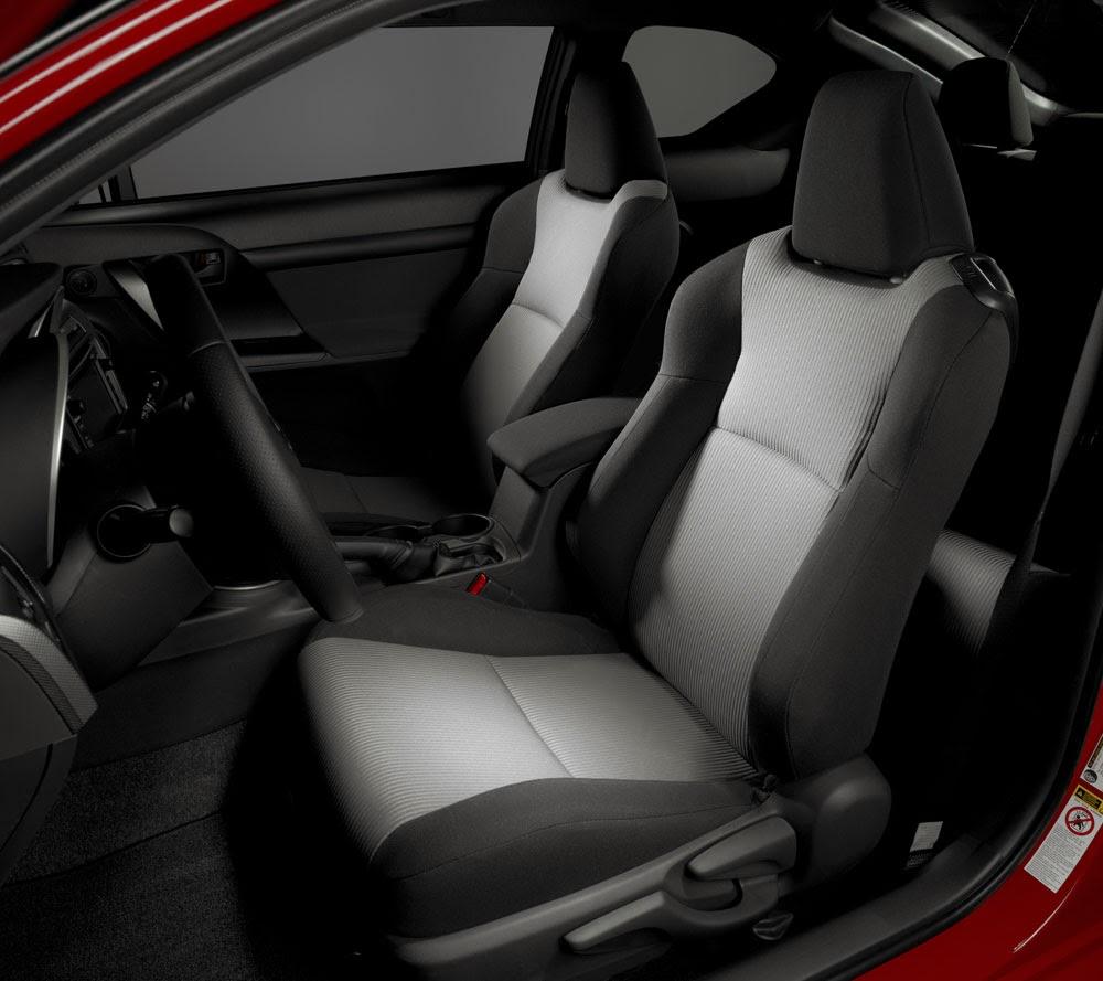 2014 Scion tC front seats