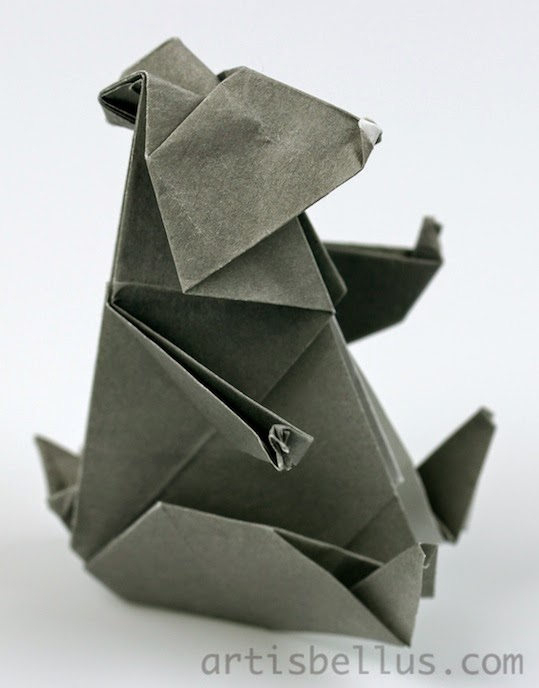 Origami Animals: Bear