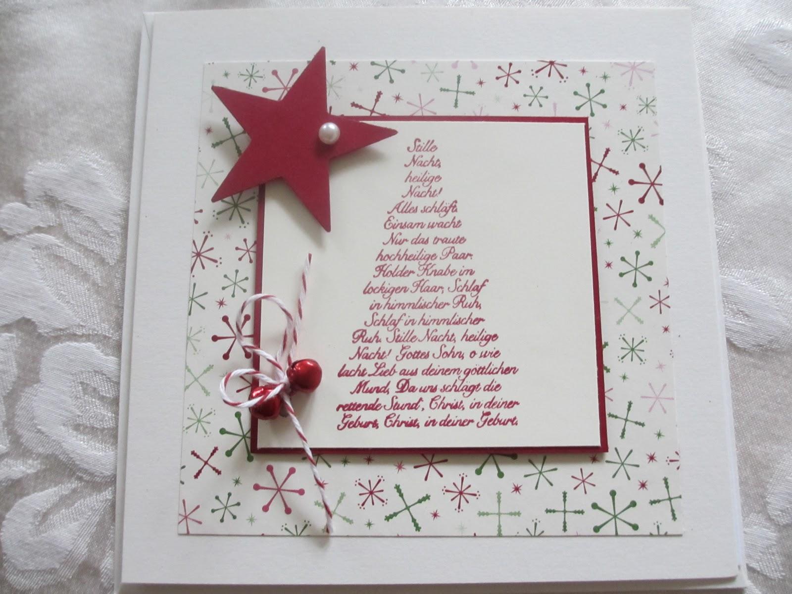 Kreativ am wald weihnachtskarten for Anleitung weihnachtskarten
