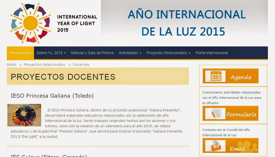 http://www.luz2015.es/proyectos_docentes.php