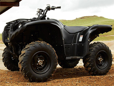 2013 Yamaha Grizzly 700 FI Auto 4x4 EPS SE ATV pictures. 480x360 pixels