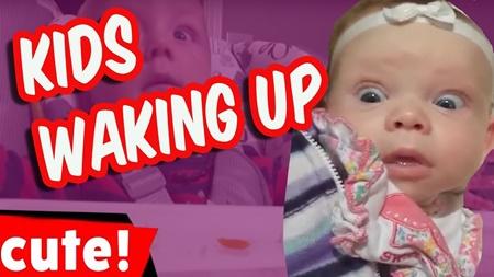 Kids Waking Up | Cutest Kids Compilation