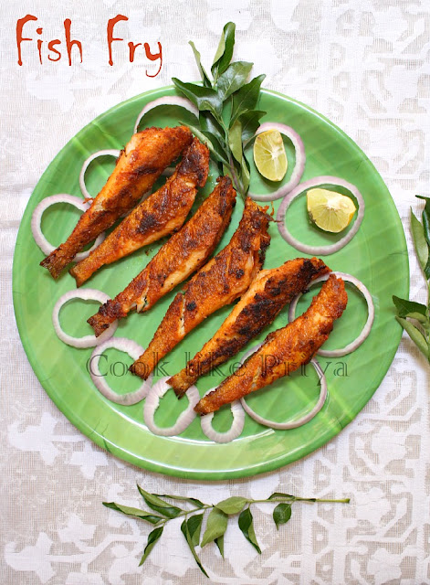 Cook like priya fish fry south indian fish fry recipe for Best fish fry recipe