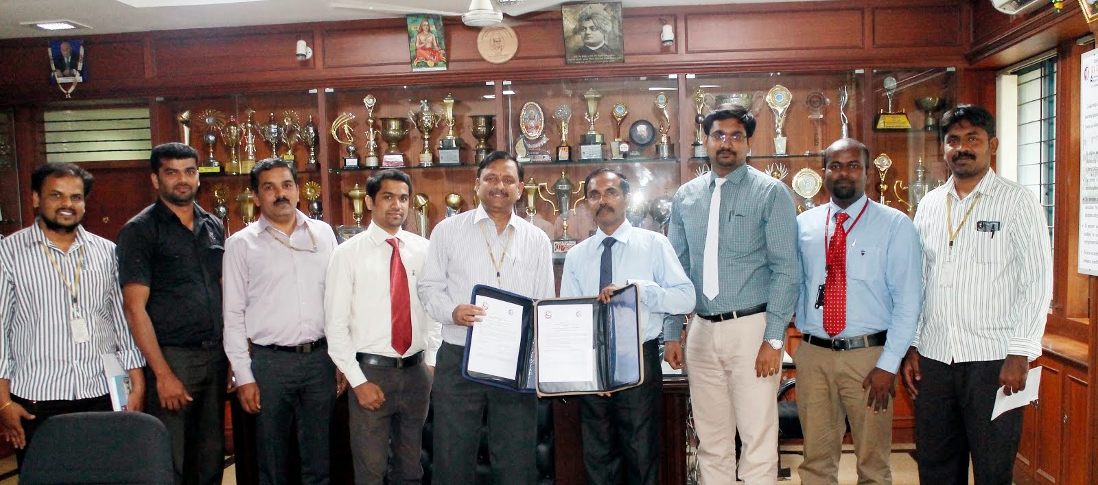 MOU SIGNED BETWEEN RVCE & VJEC