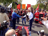 Marvel Handboy's Photos: Cowboy and Indian Alliance Resisting Keystone in DC!