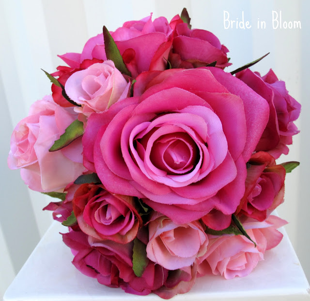 Bride in Bloom: The rose bridal bouquet
