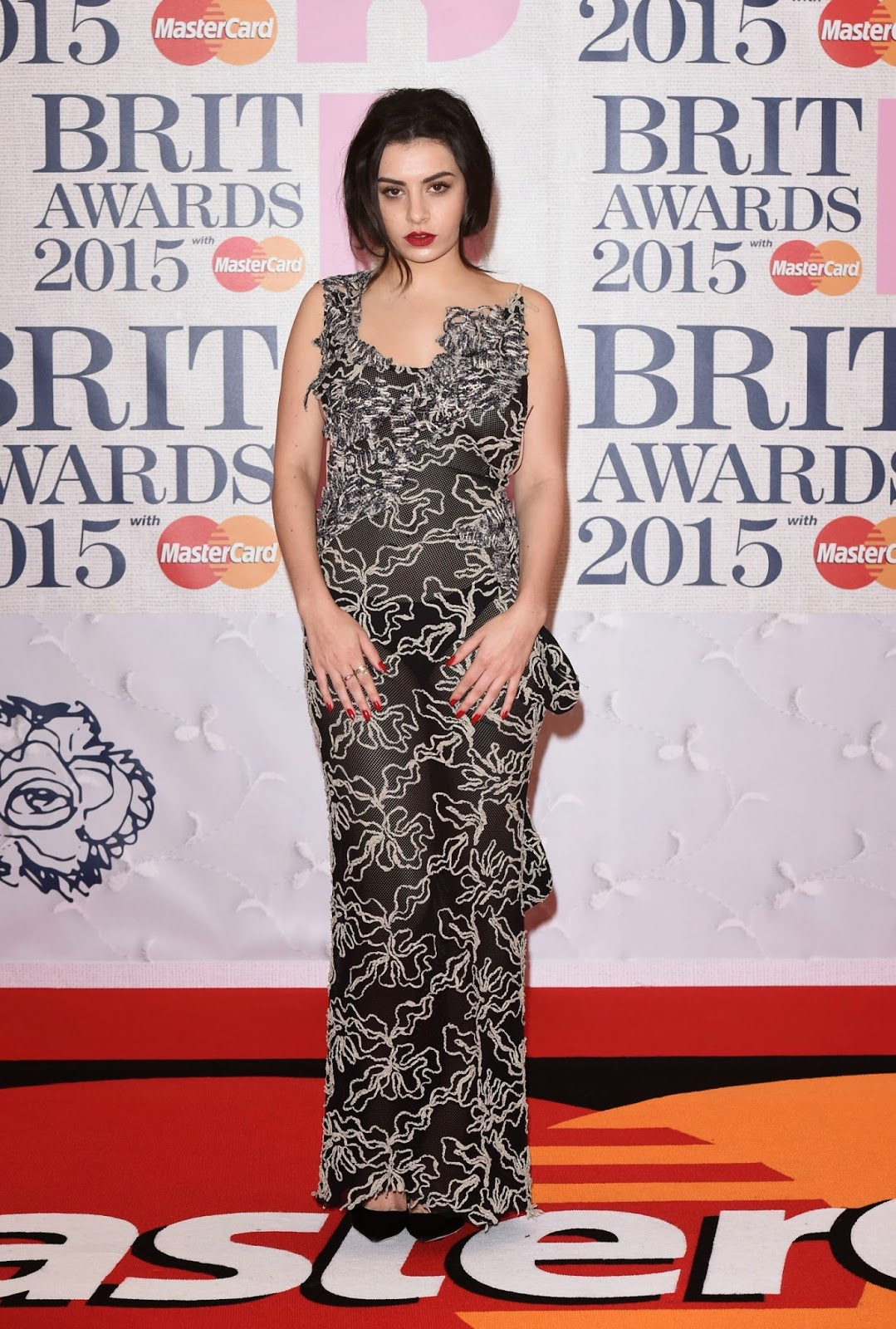 Singer-Songwriter: Charli Xcx - Brit Awards 2015 In London