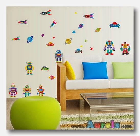 robots rockets ay7023