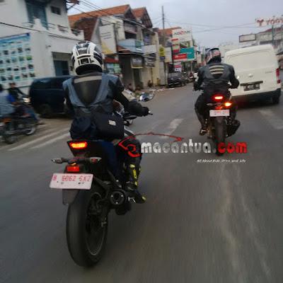 Yamaha MT-15 Sedang Ramai di Tes Jalanan